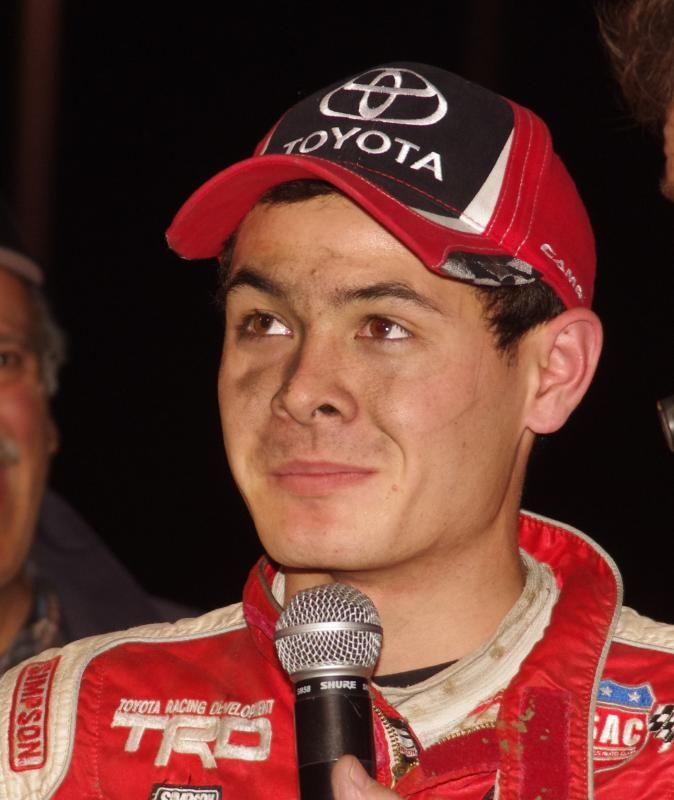 Kyle Larson 2012 Turkey Night Winner