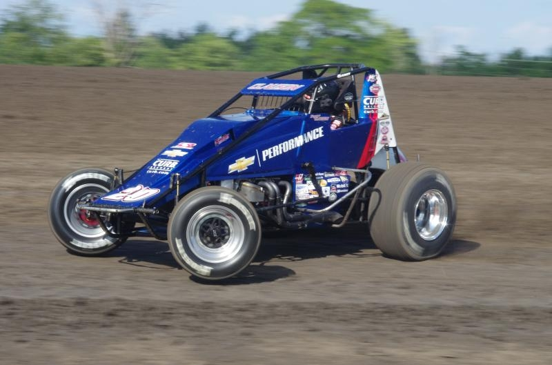 Bryan Clauson At Gas City